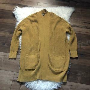 aerie long chunky cardigan